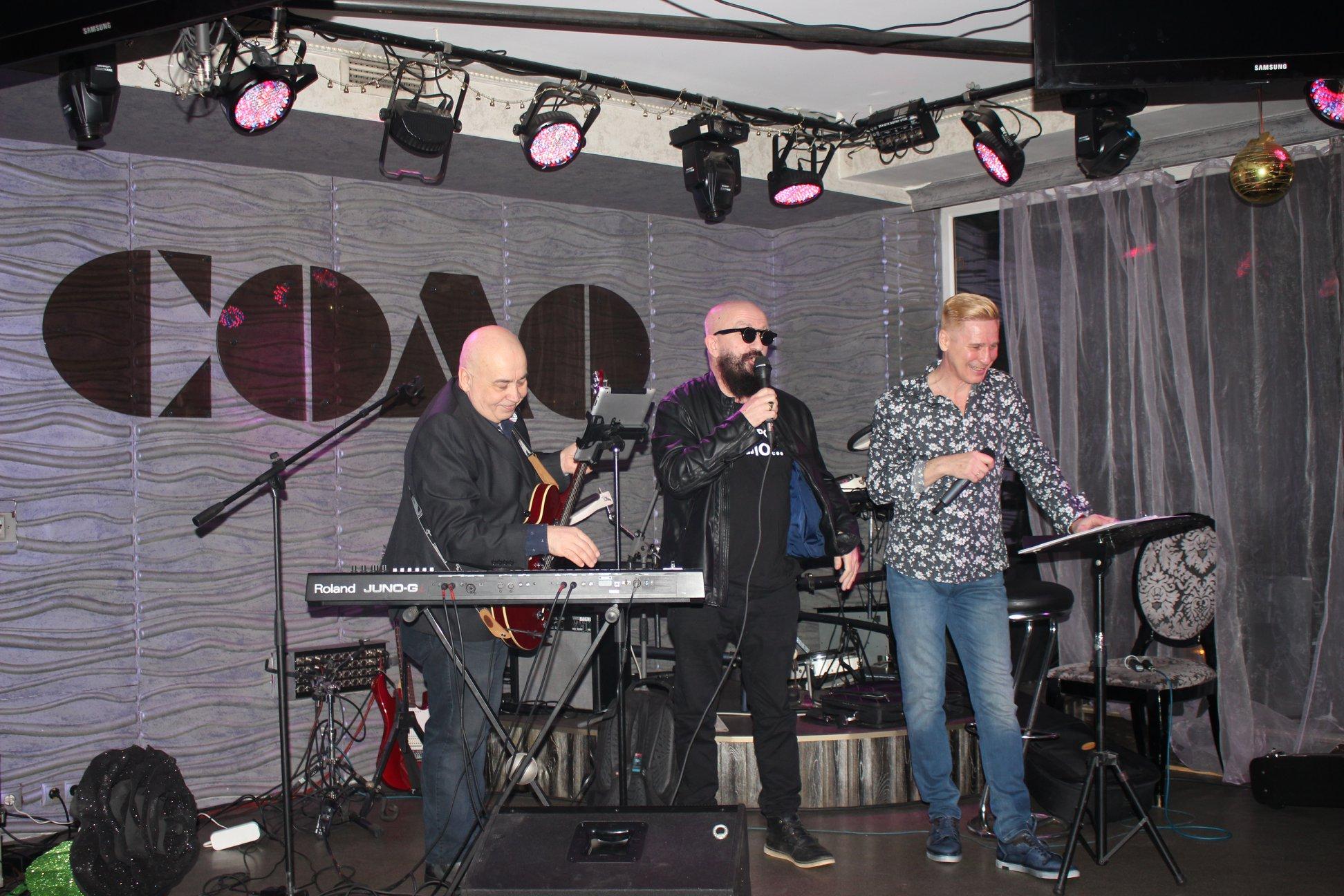 Андрей Якиманский и Владимир Ферапонтов презентовали в клубе СОЛО свою совместную песню о ПИВЕ